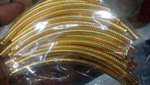 how to make silk thread bangles at home