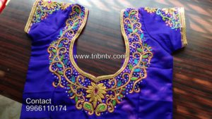 maggam work blouses online shopping