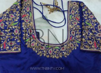 Sankranthi 2018 Festival Offer Maggam works blouses Available | TNBN Tv Online Shopping