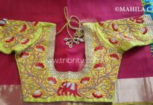 Latest maggam work designs Online Shopping | Full bridal design | Party wear Aari work
